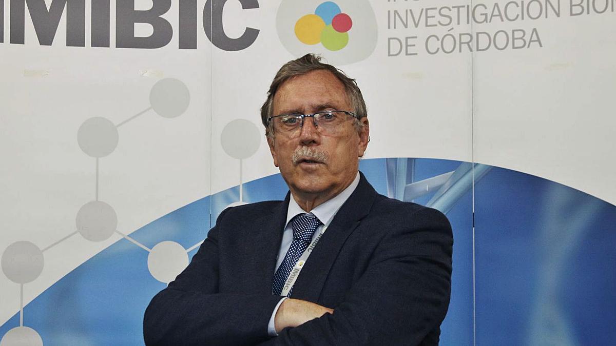 José Manuel Quesada, investigador del Imibic y endocrinólogo jubilado del hospital Reina Sofía.