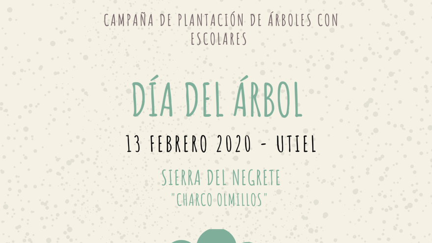 Utiel celebra el día del árbol con la plantación de 1.000 ejemplares