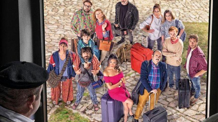 'El pueblo', una nueva comedia rural, se afinca en la parrilla televisiva