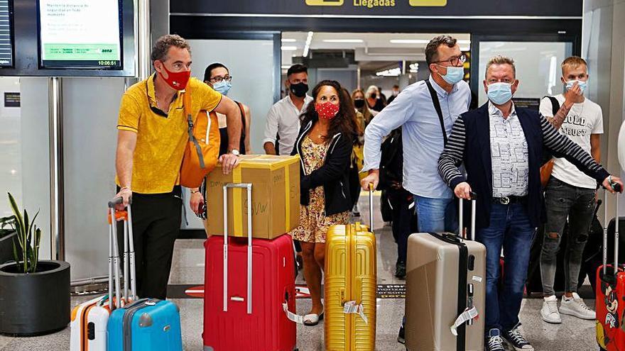 Los aeropuertos de Baleares, los más activos por el fin de las restricciones en Reino Unido