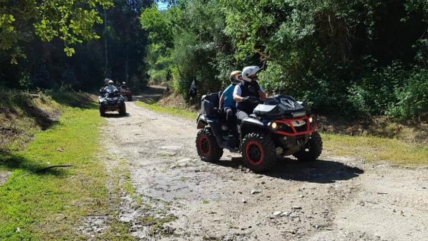 El colectivo de los quads defiende que ellos respetan la naturaleza y no causan destrozos en el monte