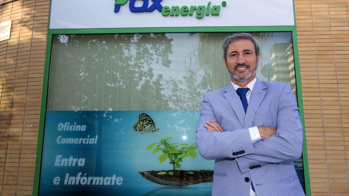 Juan Carlos Garrido, gerente de FOX Energía