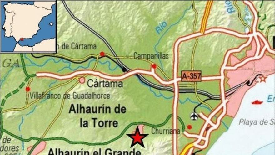 Detectado un terremoto de magnitud 3,3 en Alhaurín de la Torre