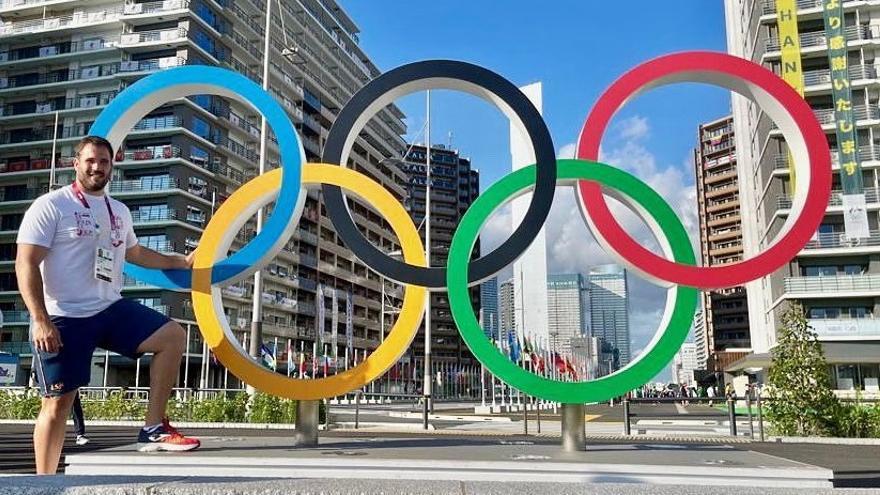 Javier Cienfuegos busca su primera final olímpica