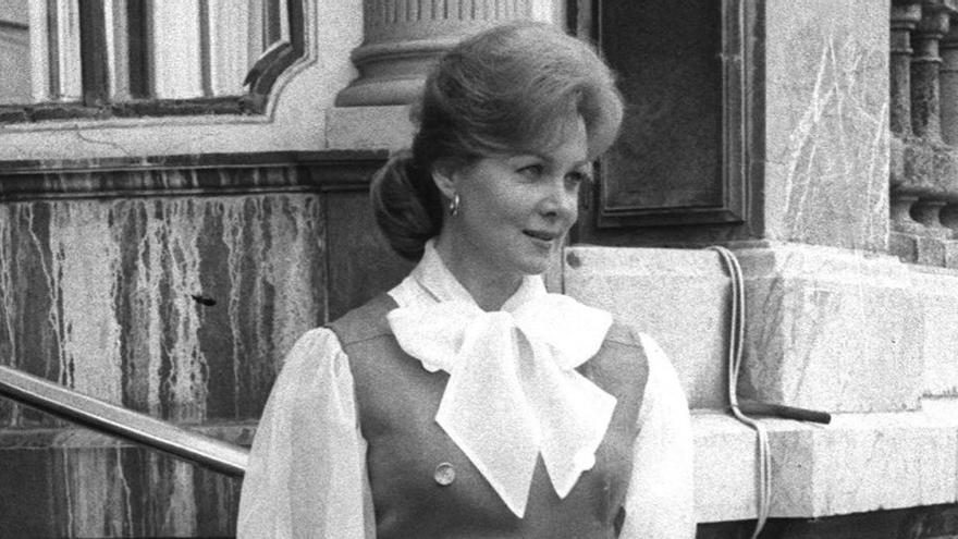Muere a los 97 años Rhonda Fleming, destacada actriz del Hollywood clásico