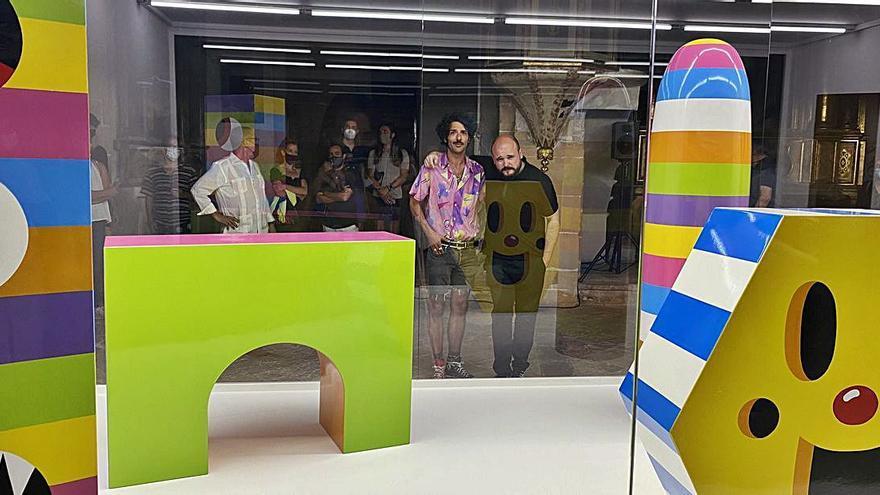 Exposición de Albert Pinya en Pollença