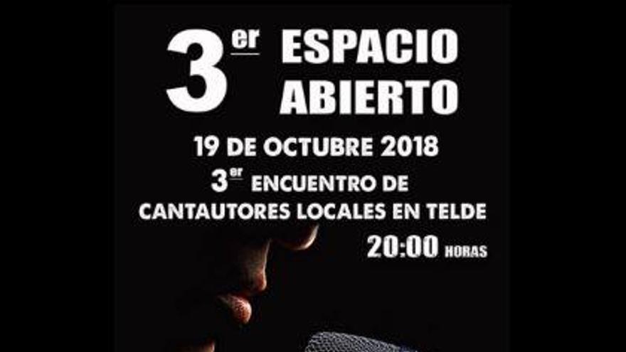 Valle de los Nueve acoge el tercer concierto de cantautores Espacio Abierto