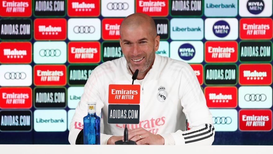 """Zidane: """"No es un partido trampa, sabemos contra quién jugamos"""""""
