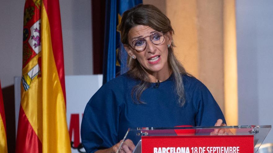 """Díaz pide un """"esfuerzo más"""" para prorrogar los ERTE"""