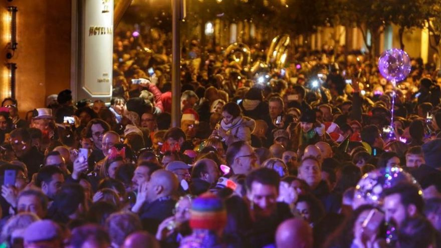 So feierte Palma de Mallorca ins neue Jahr