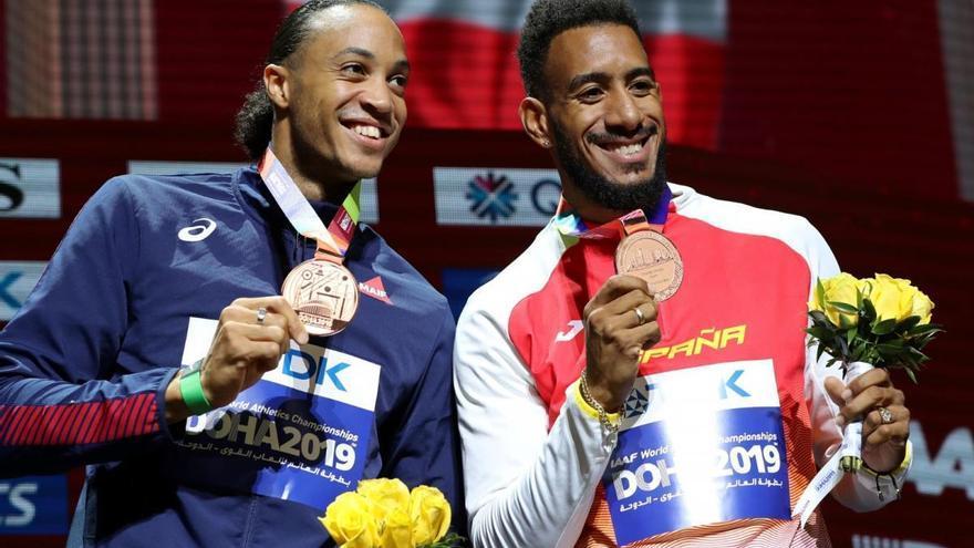 La IAAF rectifica y concede una medalla de bronce a Orlando Ortega