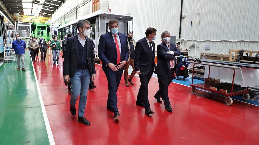 Stadler y el Consell se alían para desarrollar trenes de hidrógeno que se probarán en Alicante