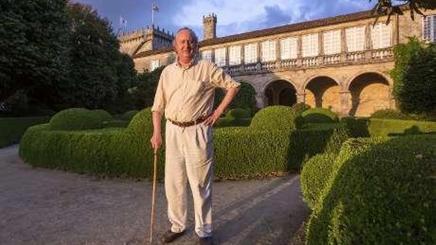 Galardonada por preservar el Versalles gallego, el Pazo de Oca