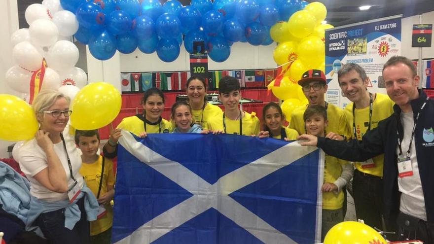 El equipo de Tenerife se proclama campeón del mundo de la First Lego League
