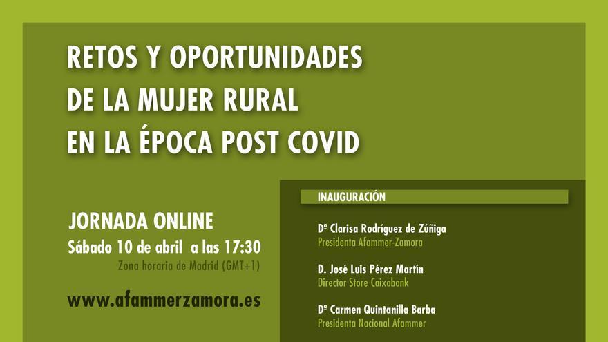 Afammer Zamora organiza una jornada sobre retos y oportunidades para la mujer rural