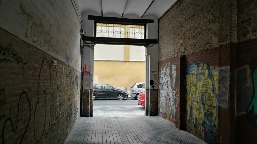 Una buena obra que acabará con  un aparcamiento 'secreto'