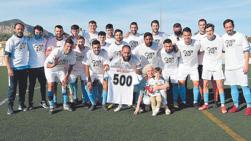 Pilotades | Toni Amengual cumple 500 partidos con la camiseta del UE Alaró