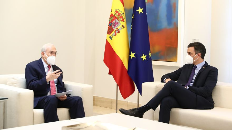 """Sánchez traslada a la OCDE la """"voluntad transformadora"""" de su Plan de Recuperación"""