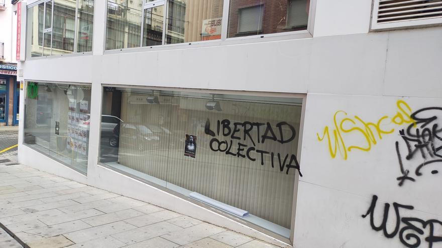 Vox Zamora denuncia pintadas en su sede