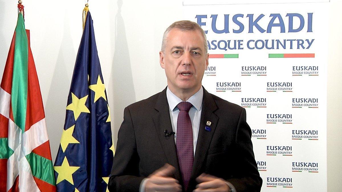 Urkullu asistirá la Conferencia de Presidentes tras alcanzar un acuerdo sobre la senda de déficit y la deuda vasca