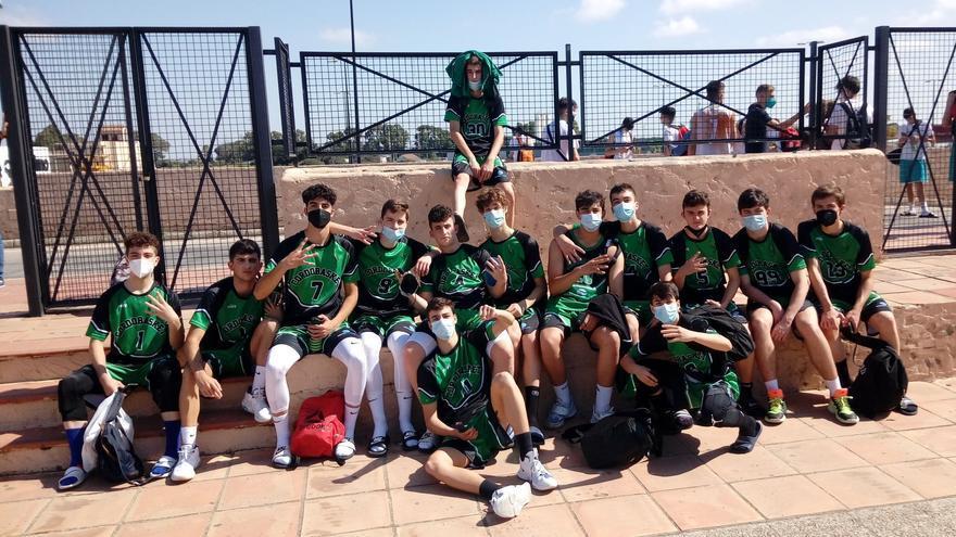 El Gestión y Calor Cordobasket cadete de baloncesto logra un histórico bronce andaluz
