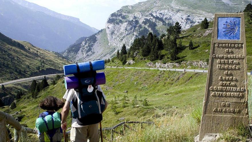 La ruta aragonesa del Camino de Santiago recupera peregrinos tras la pandemia