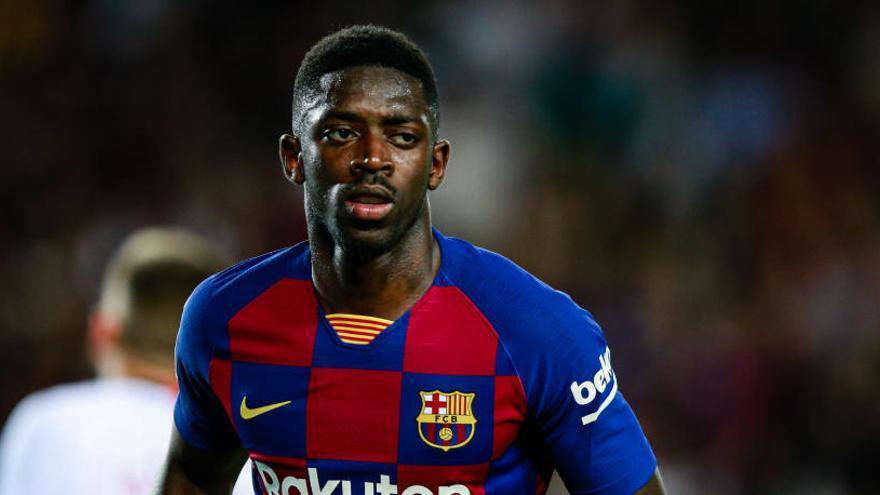 Dos partidos de sanción a Dembélé, que se perderá el 'clásico'