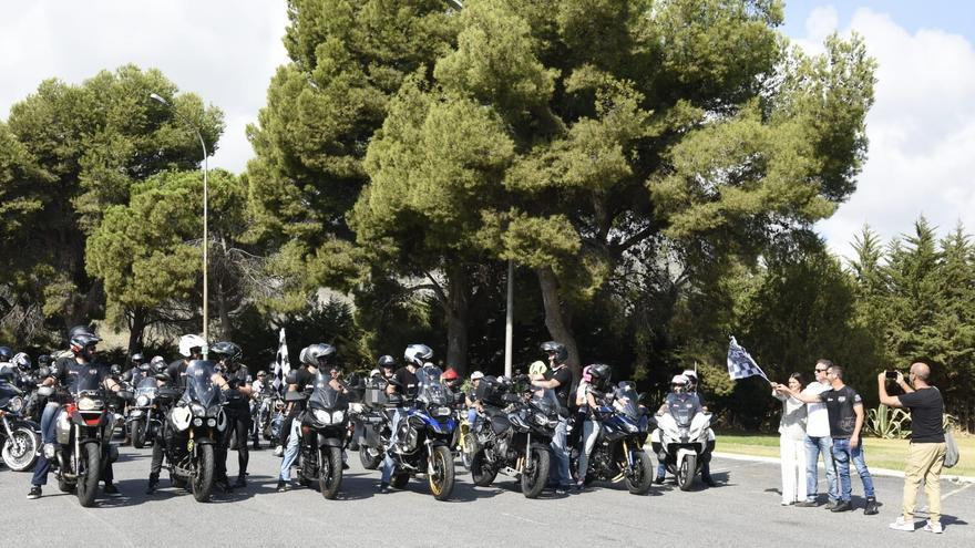 La ruta mototurística de Torremolinos reúne a medio centenar de motos