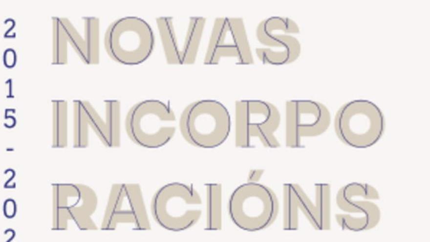 Museo Quiñones de León. Novas incorporacións de arte galega, 2015-2020
