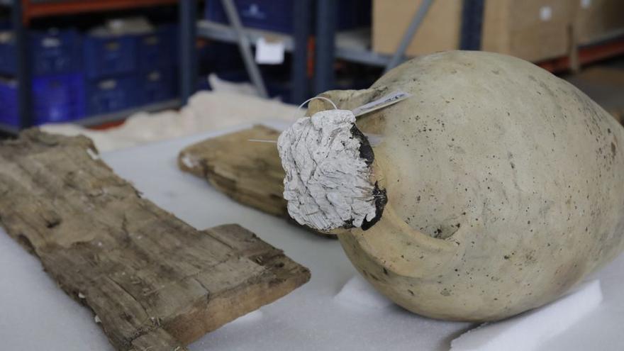 Así es el pecio romano de Can Pastilla, un hallazgo único en el mundo