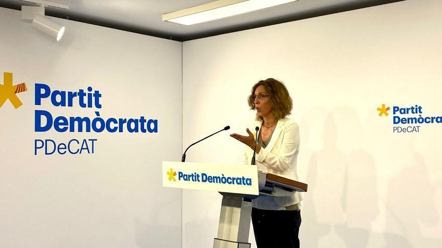 """El PDeCAT presentarà """"el màxim nombre"""" de llistes a les municipals a falta d'un acord amb Junts"""