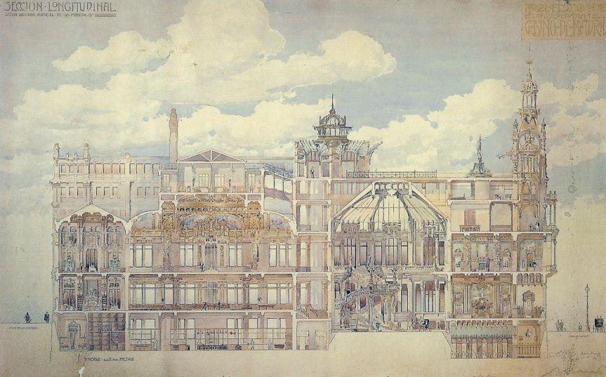 Propuesta de Palacios para el Casino de Madrid 1904.jpg