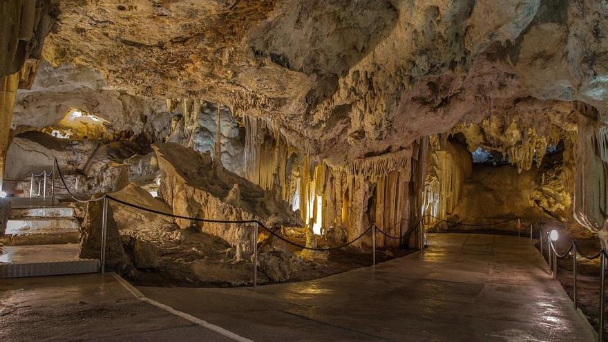 La Cueva de Nerja cierra hasta el 31 de enero