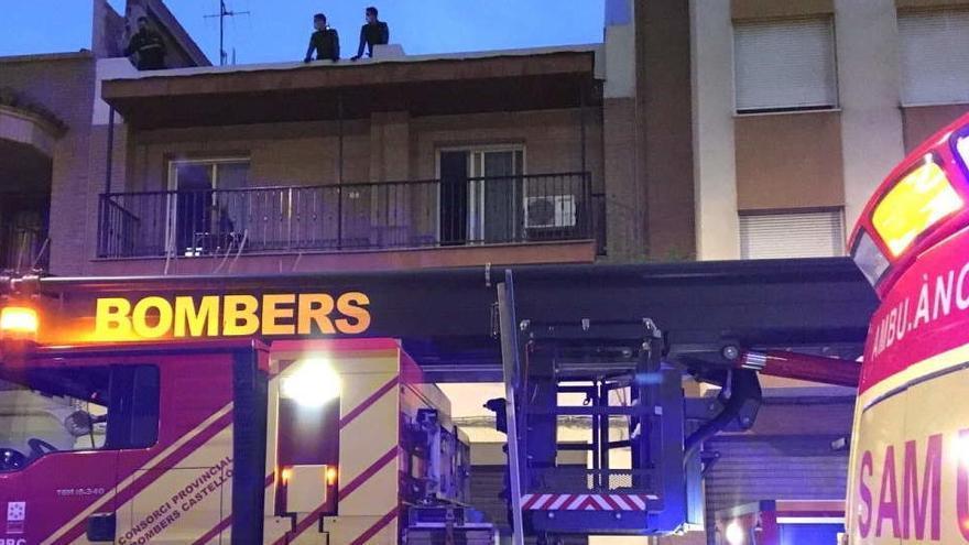 Un fallecido en el incendio de una vivienda de Castellón