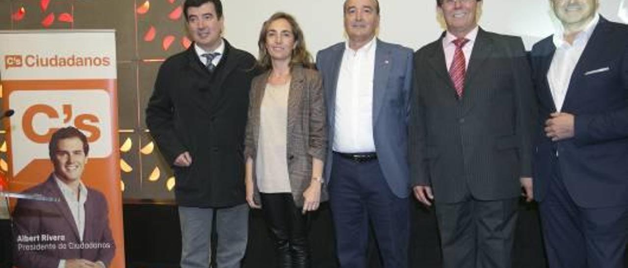Acto de presentación celebrado ayer en Castelló.