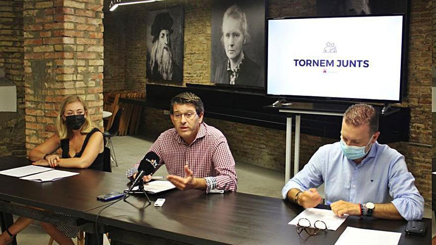 Ontinyent cifra en 9,3 millones el impacto del Pla Tornem Junts