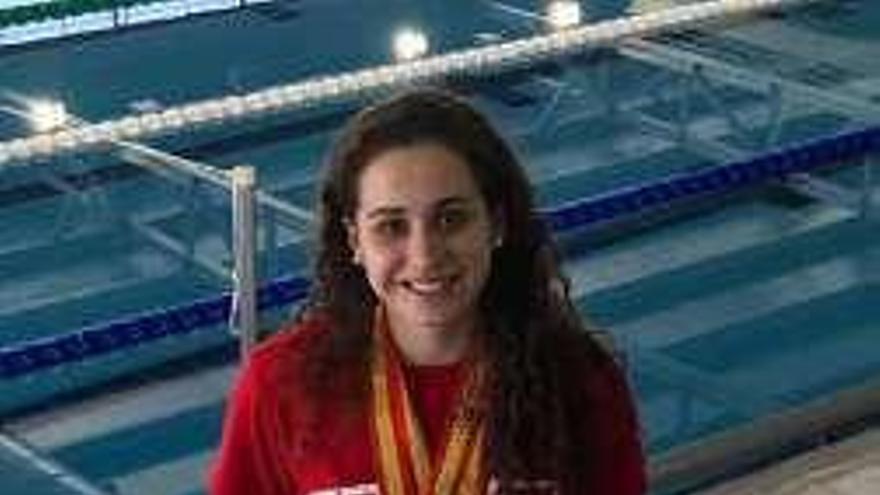 Laura Lorenzo, plata y bronce en el Nacional Universitario