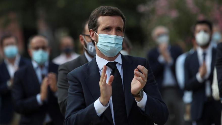 Pablo Casado intervendrá el sábado en el congreso provincial de Valencia