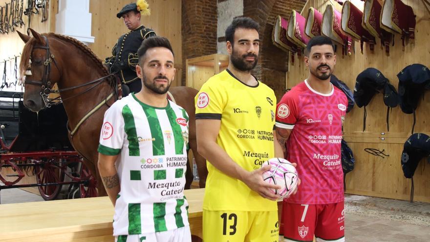 Blanco y verde, Córdoba Futsal: vestido para crecer