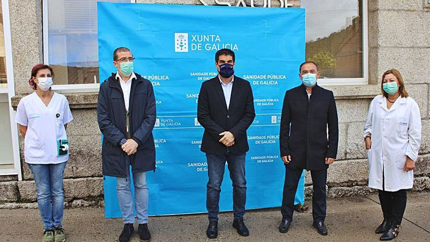 El centro de salud de Arnoia consultará en la planta baja