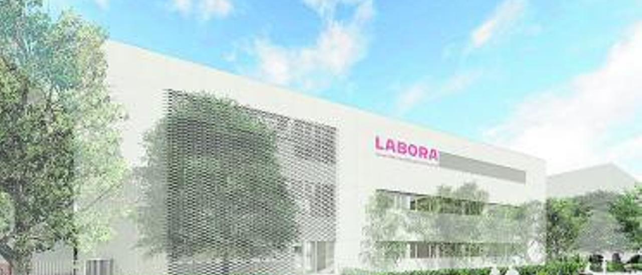 Recreación virtual del nuevo edificio de Meliana.   A. M.