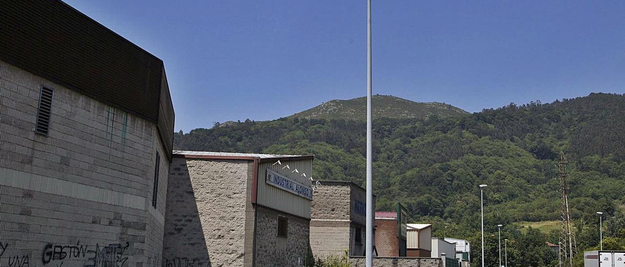 El polígono de Riaño (área I), en Langreo.   Fernando Rodríguez
