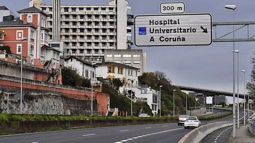 A Coruña registra la cifra de ingresados por coronavirus más baja en siete meses
