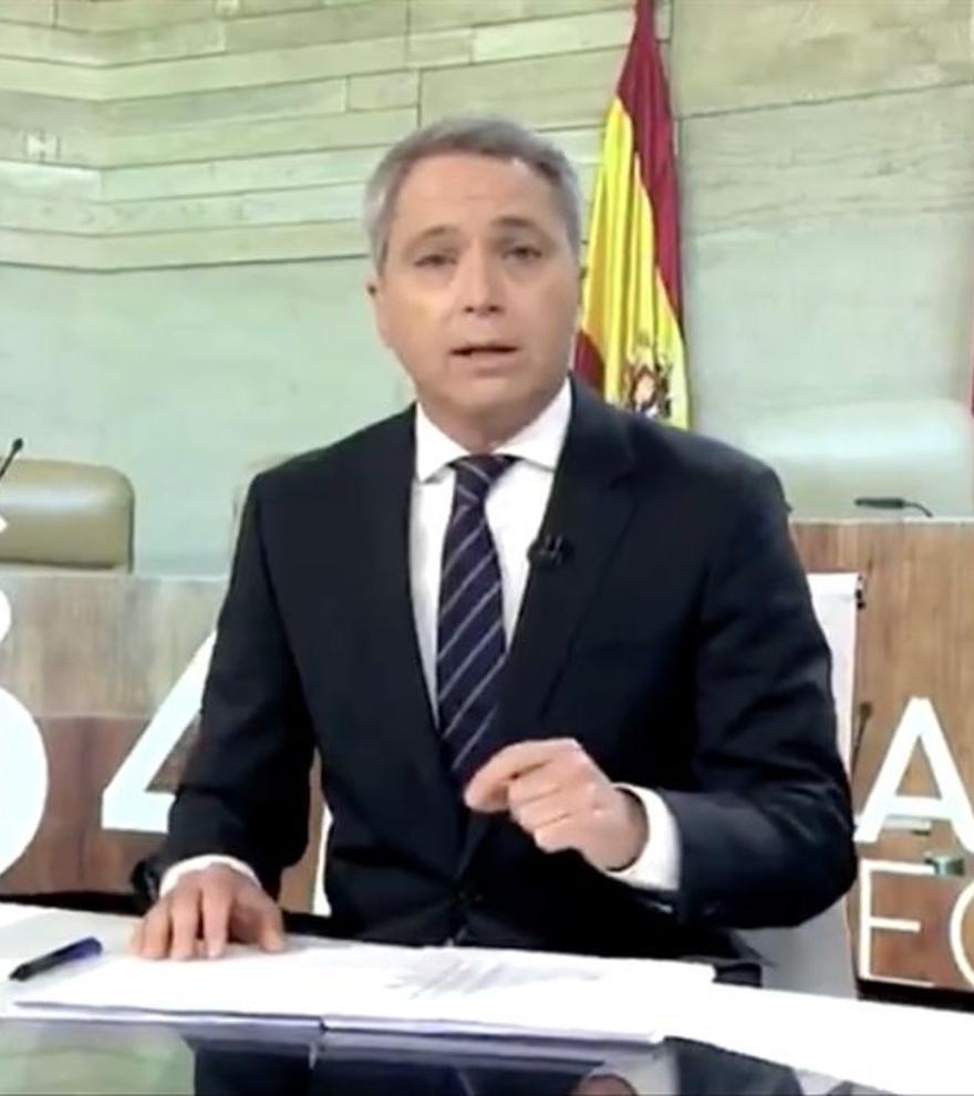 """Vicente Vallés carga contra Podemos por su polémico vídeo: """"Pretenden atemorizar"""""""