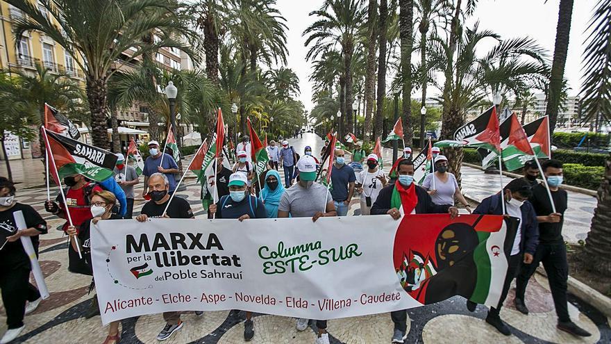 La marcha por la libertad del Sahara hará cinco paradas en la provincia con destino a Madrid