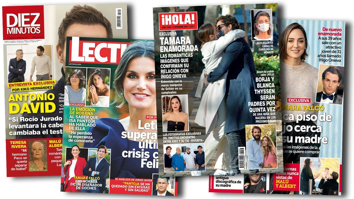 Prensa Rosa: Portadas 25/11/2020