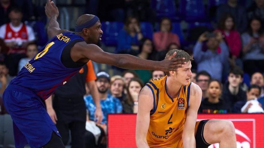 El Barcelona Lassa gana al Herbalife Gran Canaria y ya roza los cuartos de final de la Euroliga