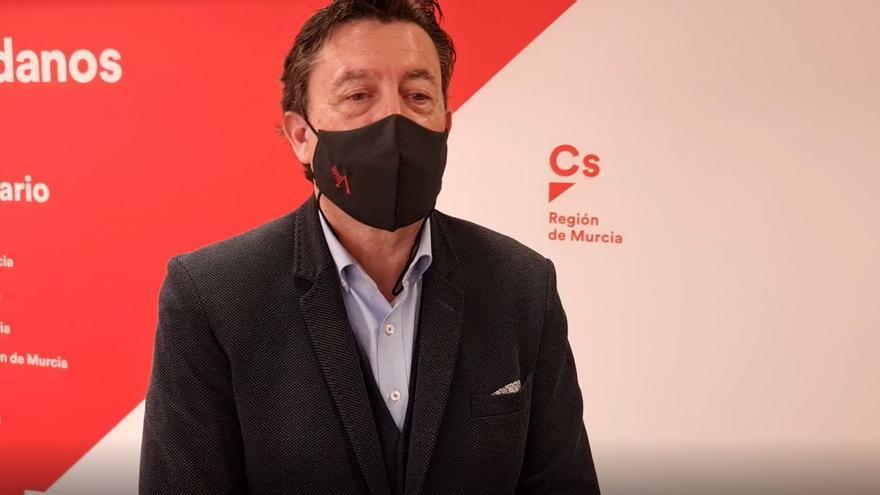 Ciudadanos no revisará el acuerdo de Gobierno de Murcia mientras el PP no cese a Coello