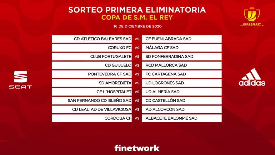 El Pontevedra recibirá al Cartagena en la primera eliminatoria de Copa del Rey