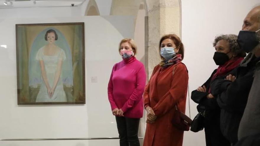 La familia Pastor Millet dona un cuadro de Emilio Varela al Mubag